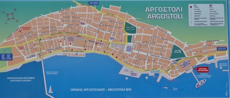 Karten für einen Tag in Argostoli auf eigene Faust