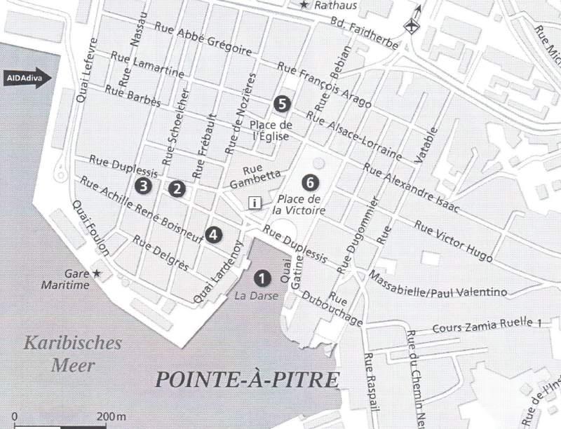 Karte von AIDA Cruises