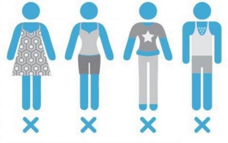 Kleidungsvorschriften
