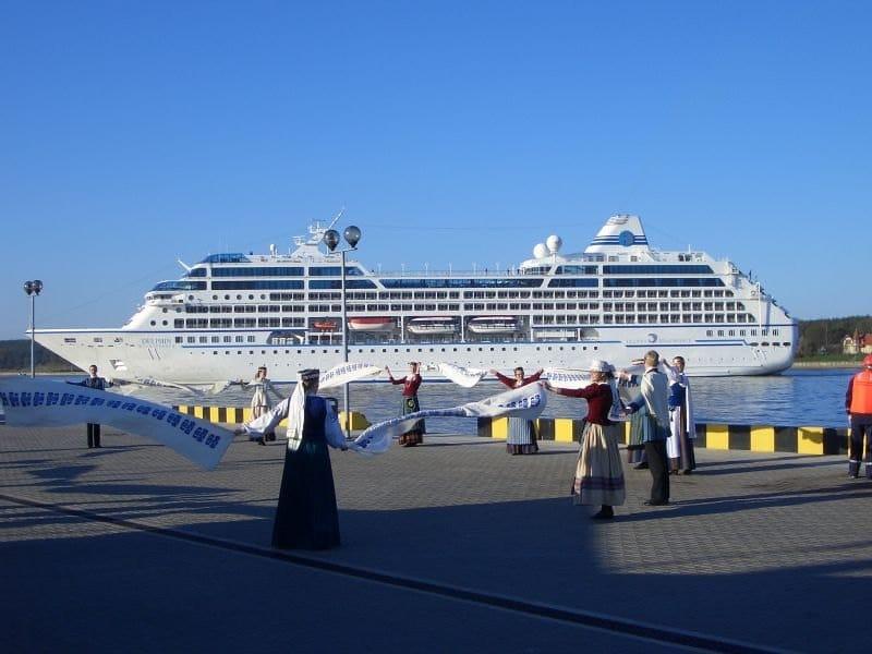 Kreuzfahrtschiff in Klaipeda - Cruise Baltic