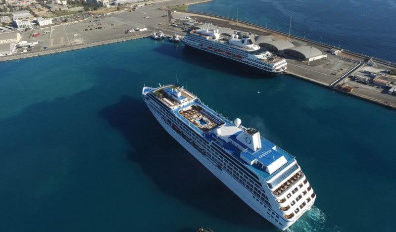 Kreuzfahrtschiffe in Limassol