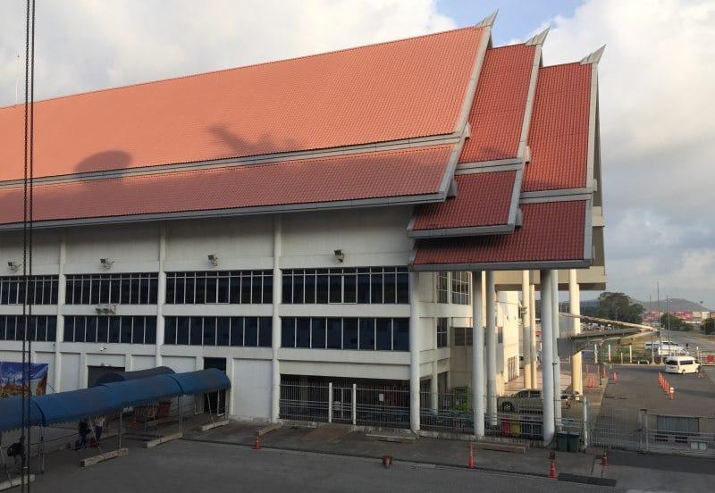 Kreuzfahrtterminal in Laem Chabang