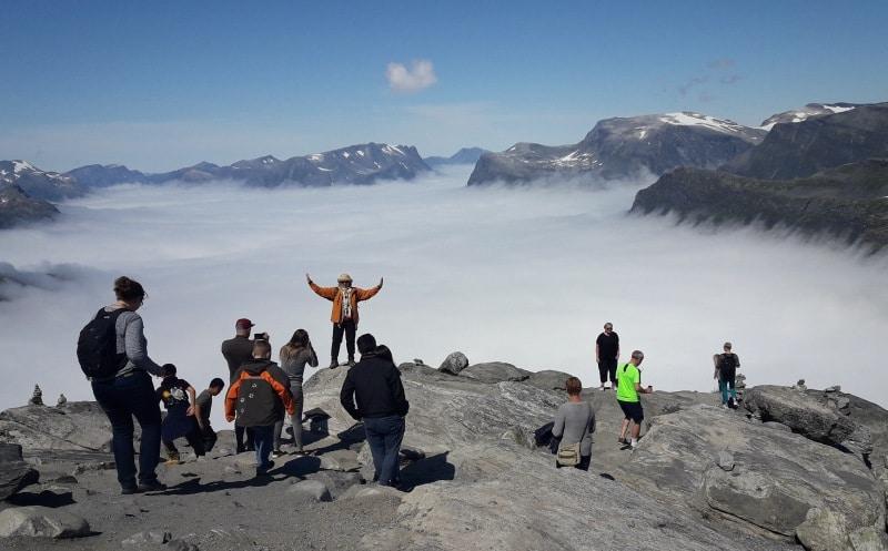 Organisierter Landausflug mit einem lokalen Veranstalter in Norwegen