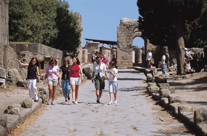 Landausflug nach Pompeji