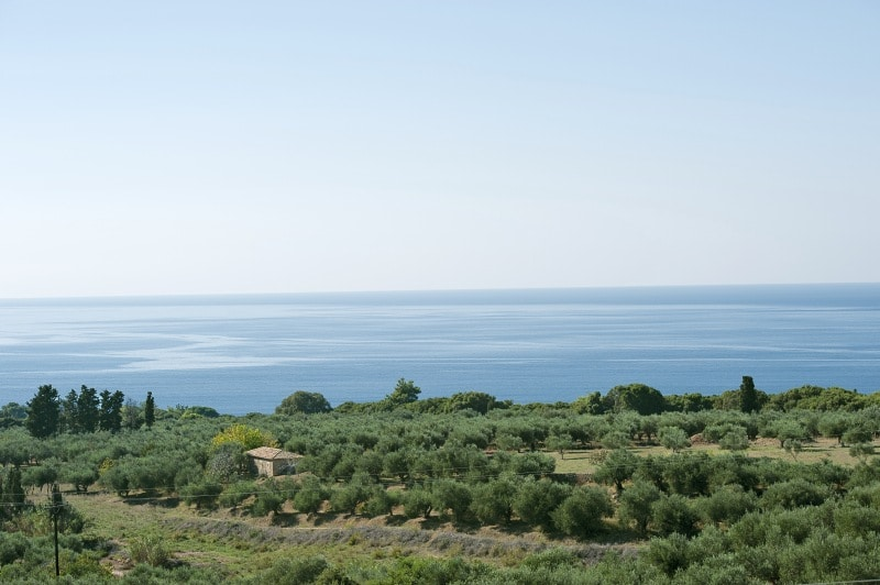 Landschaft auf dem Peleponnes