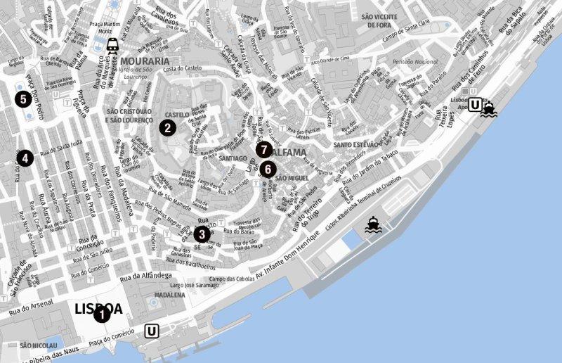 Stadtrundgang in Lissabon auf eigene Faust
