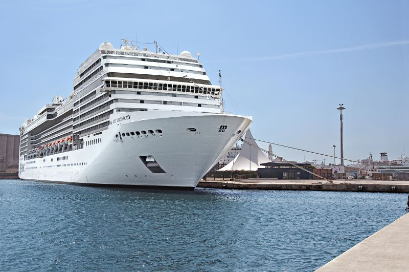 MSC Magnifica in Bari