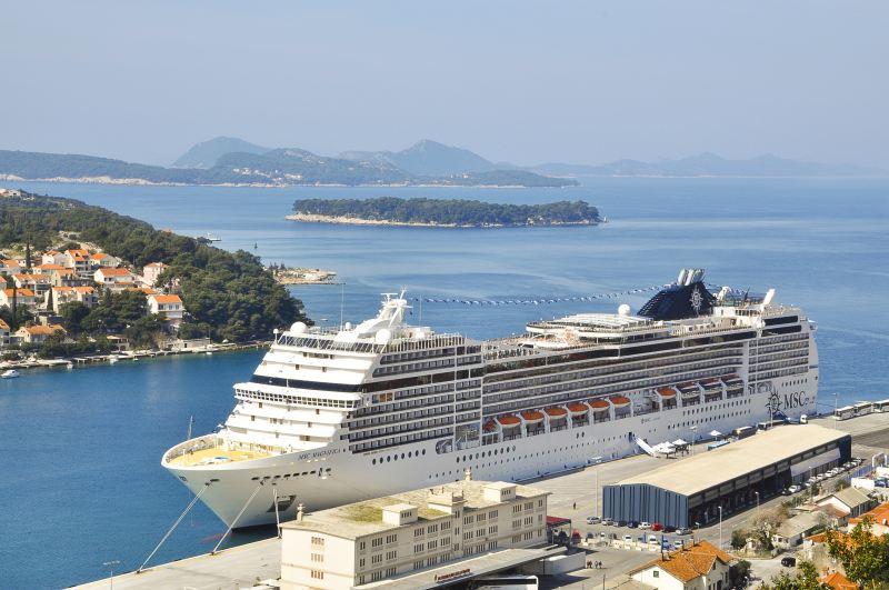 MSC Magnifica in Dubrovnik