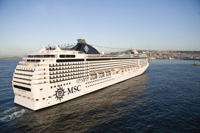 MSC Poesia erreicht den nächsten Hafen
