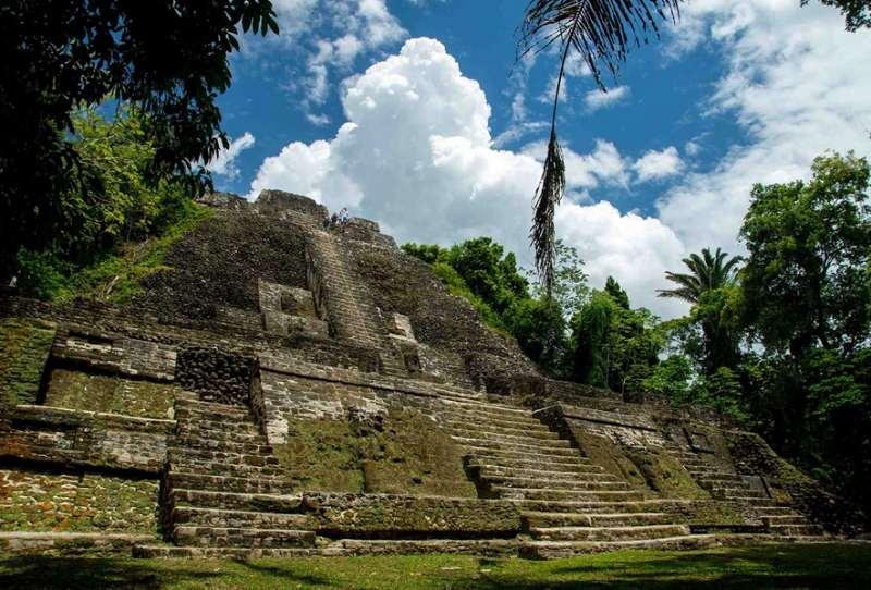 Maya-Ruinen in Lamanai