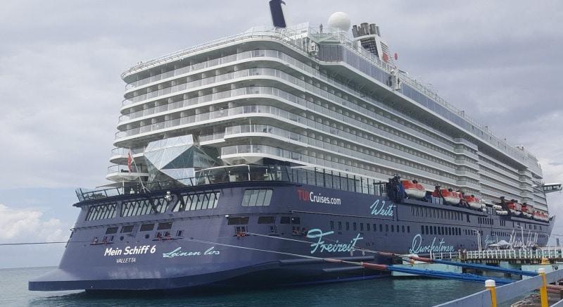 Mein Schiff 6 in Ocho Rios