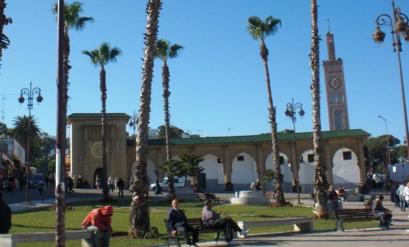 Moschee Sidi Bouabid am Grand Socco