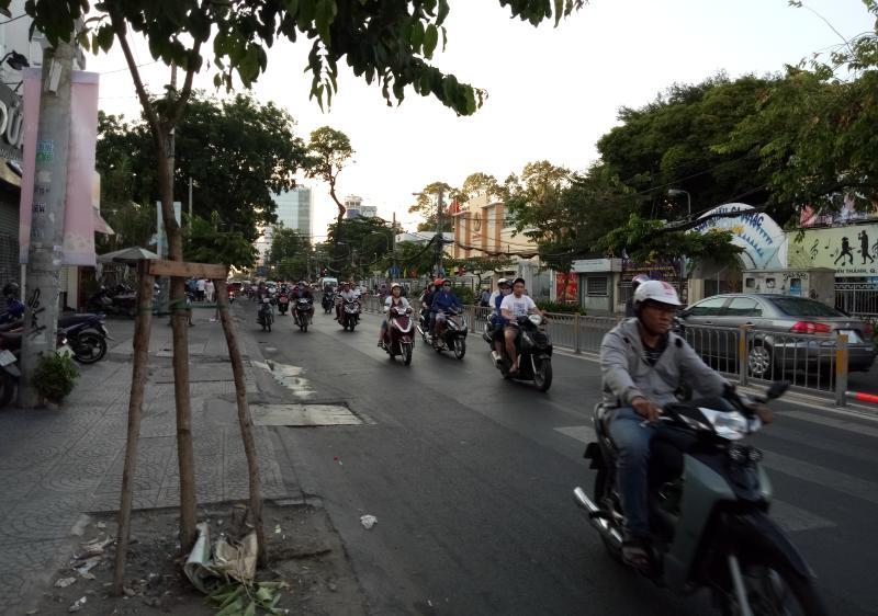 Motorroller in Ho-Chi-Minh-Stadt