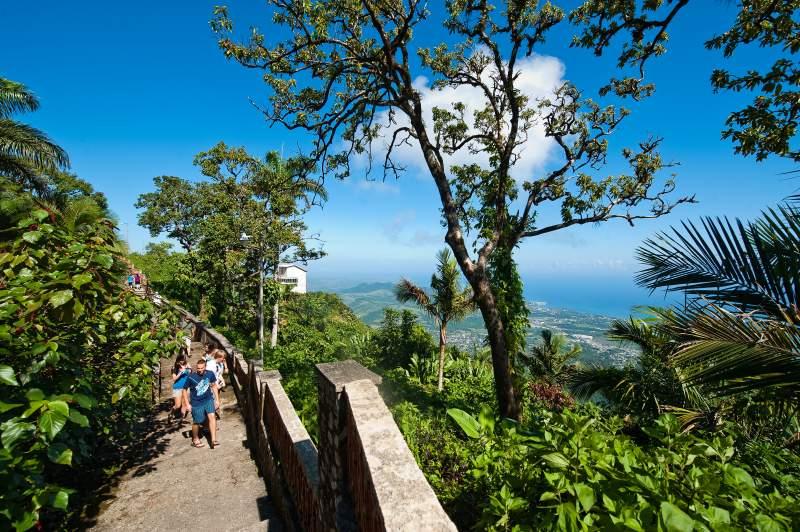 Auf dem Pico Isabel de Torres