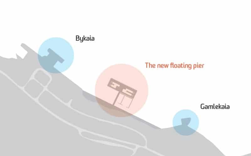 Liegeplätze für Kreuzfahrtschiffe in Longyeabyen