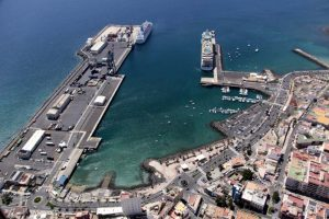 Noch ein Blick auf die Muelle de Cruceros