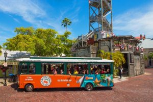 Old Town Trolley Train