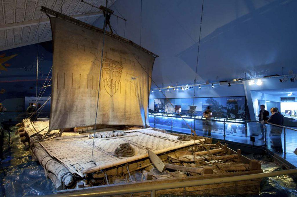 Kon-Tiki Floß von Thor Heyerdahl