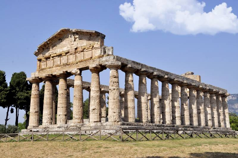 Die antike Tempelstadt Paestum