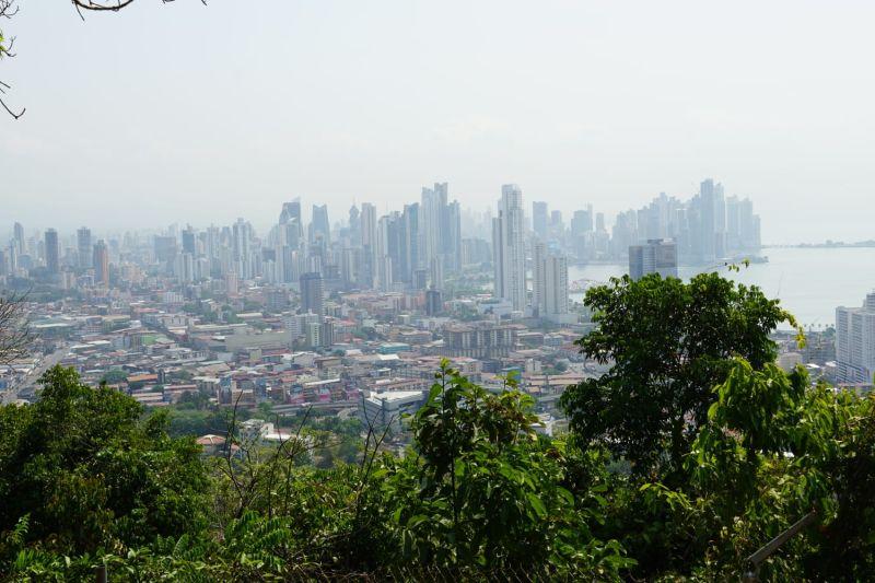 Blick über Panama-City