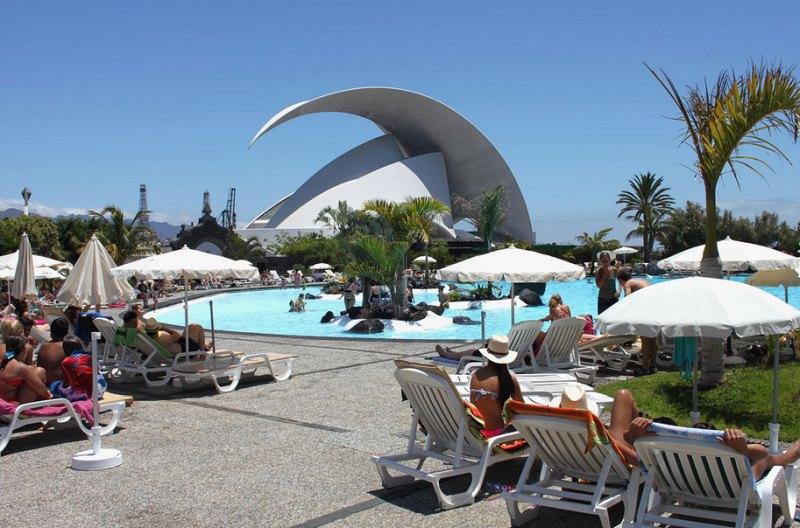 Parque Maritimo Santa Cruz de Tenerife