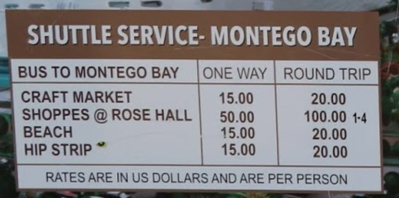 Preise Shuttle Service