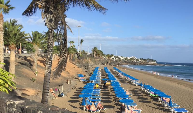 Strand in Puerto del Carmen