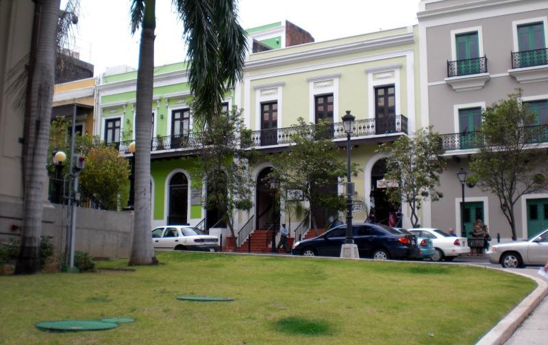 Restaurierte Gebäude