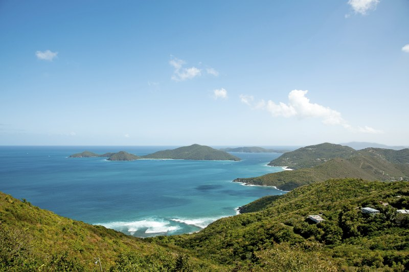 Ridge Road View Tortola