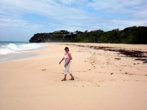 Rosa Sand am Crane Beach