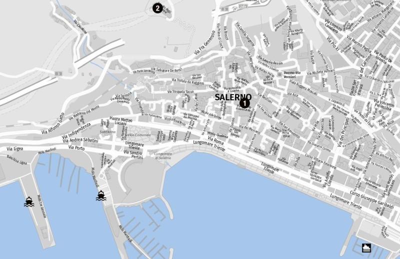 Salerno auf einen Blick