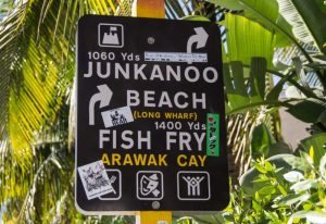 Der Junkanno Beach ist leicht zu finden