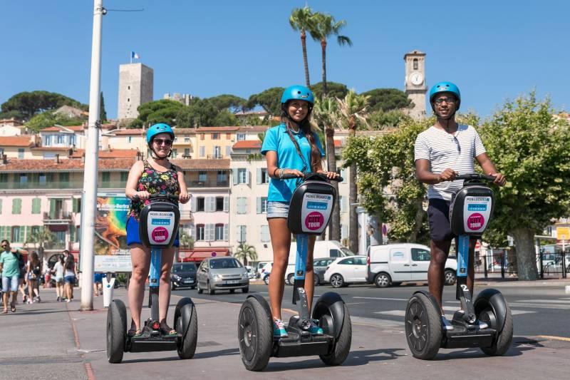 Segway Landausflug in Cannes