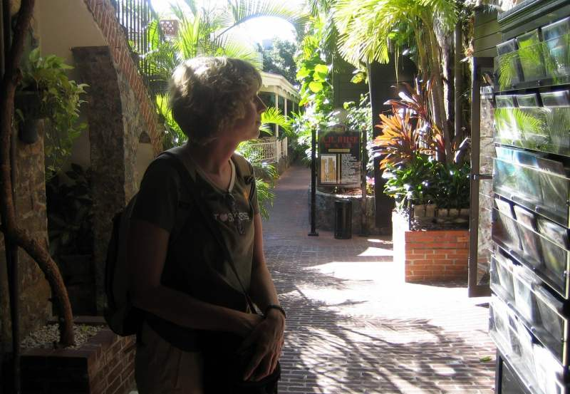 Shopping in Charlotte Amalie