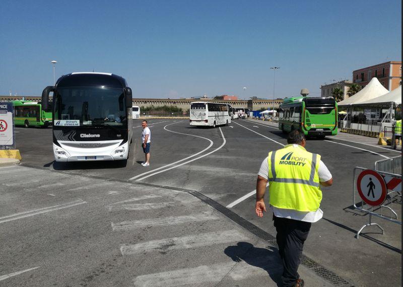 Kostenlose Shuttlebusse für einen Tag in Civitavecchia auf eigene Faust
