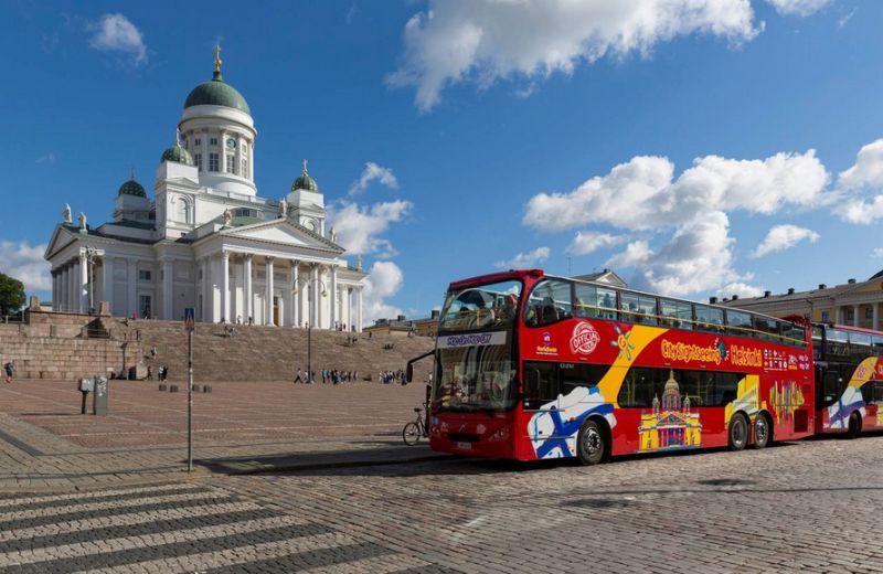 Stadtrundfahrt in Helsinki