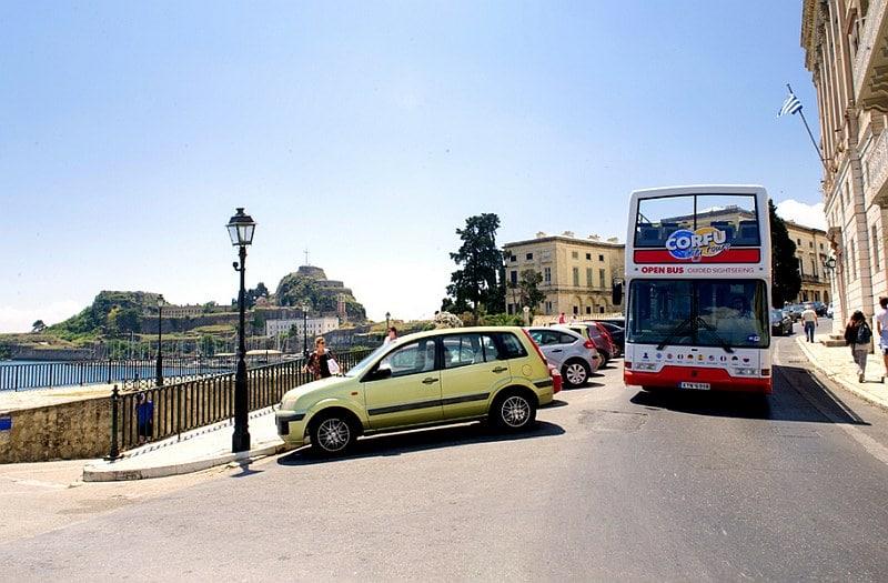 Landausflüge auf Korfu auf Stadtrundfahrten