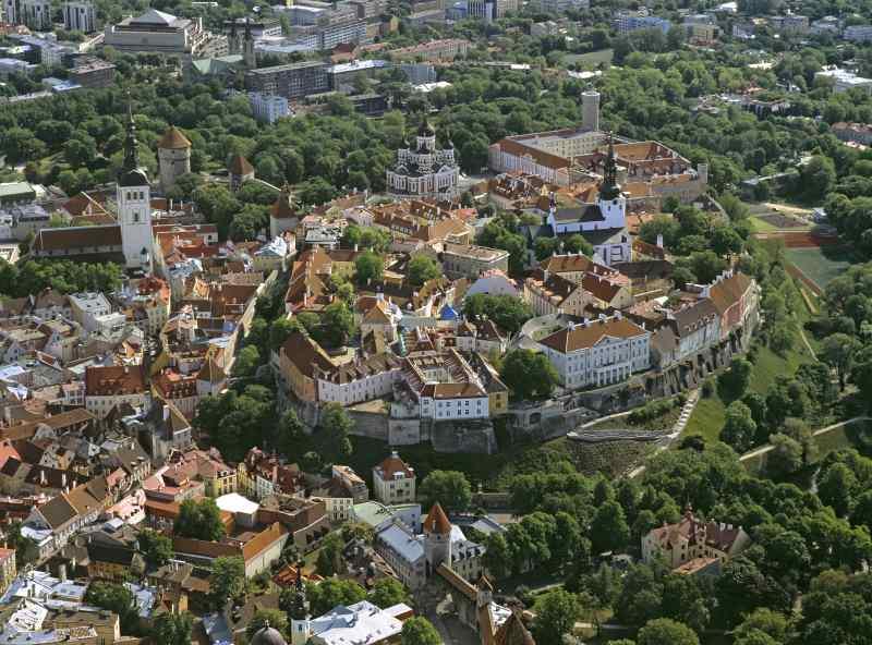 Tallinn ist ein beliebtes Ziel von Ostsee Kreuzfahrten