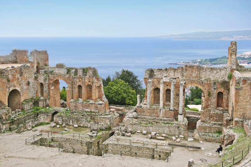 Das antike Theater Taormina