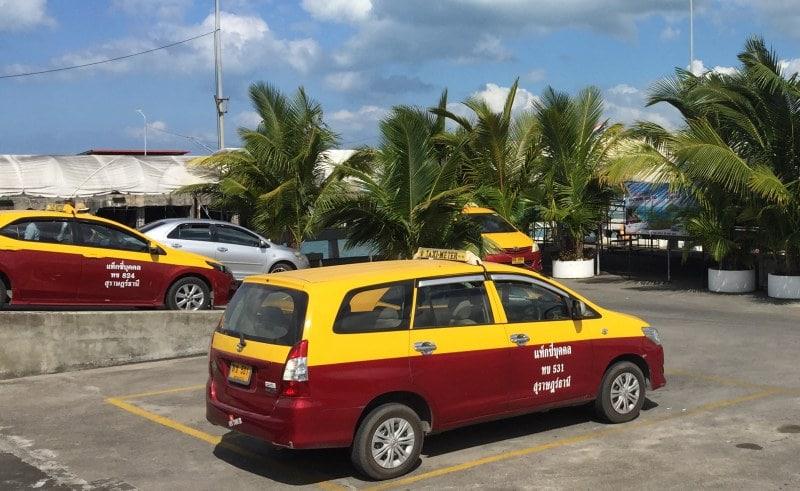 Taxen auf Koh Samui