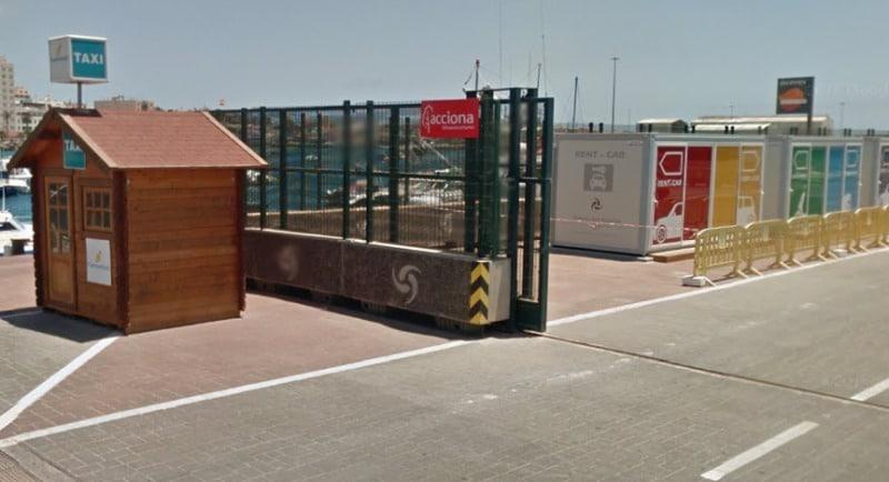 Taxi und Mietwagen können in Hafen gemietet werden