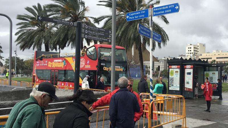 Eine Alternative für Landausflüge auf Gran Canaria sind Stadtrundfahrten.
