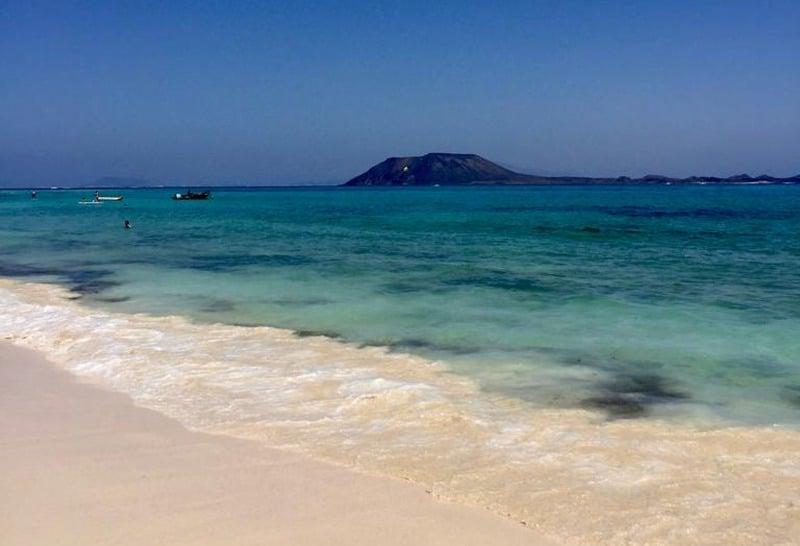 Blick von der Playa de los Pozos
