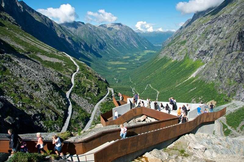 Landausflüge in Andalsnes zum Trollstigen