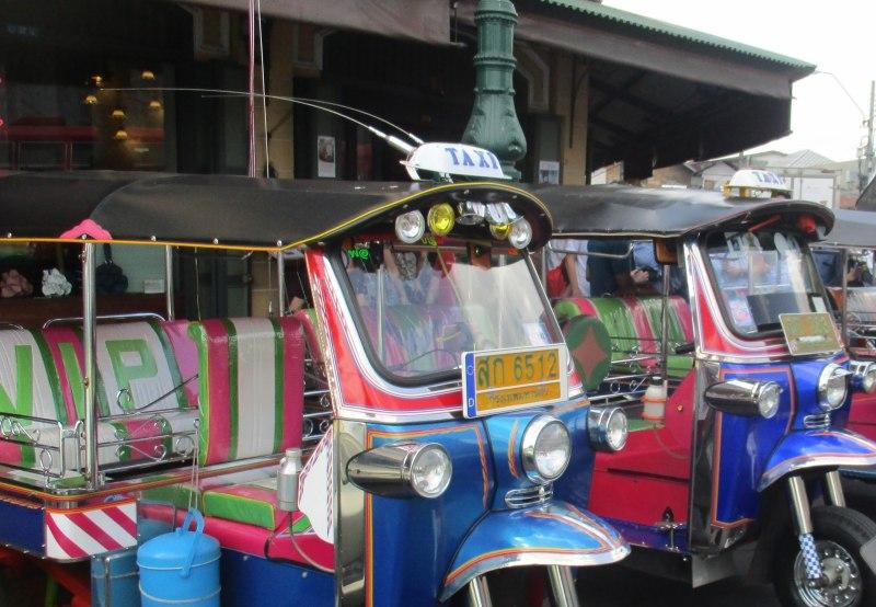 Bangkok auf eigene Faust mit Tuk-Tuks