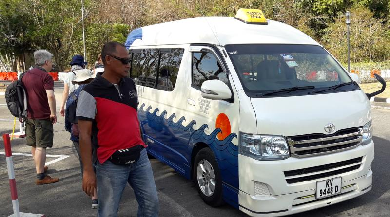 Unser Taxi für einen Tag auf Langkawi auf eigene Faust
