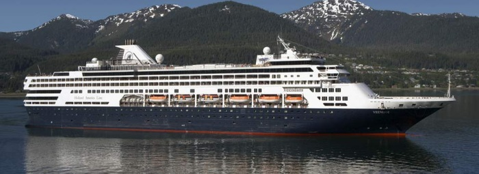 Veendam in Alaska
