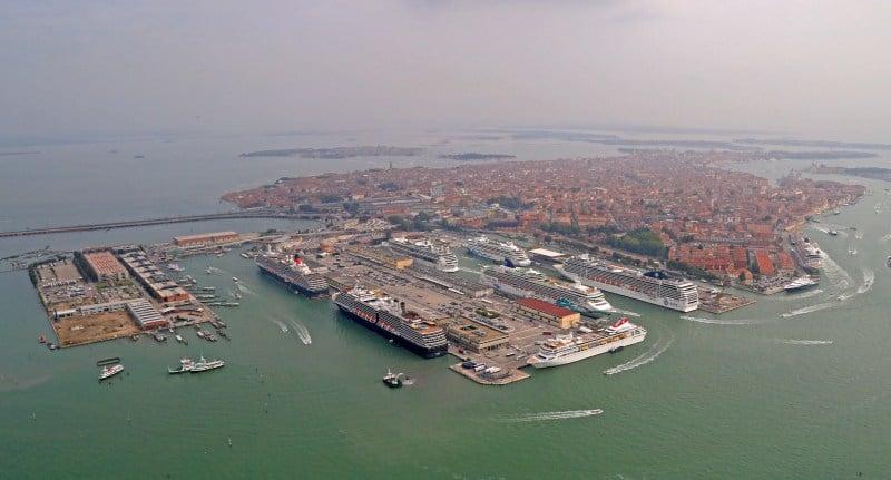 Venedig und der Hafen