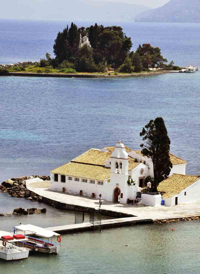 Vlacherna Monastery