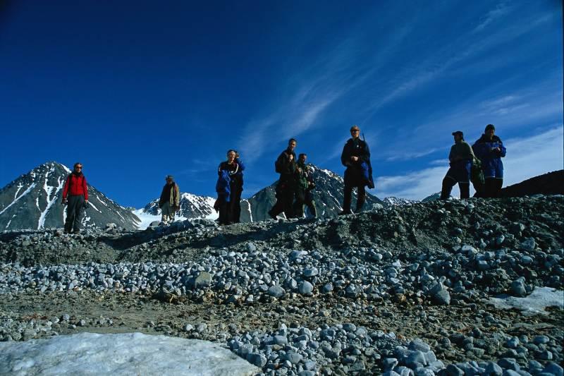 Wanderungen in Longyearbyen